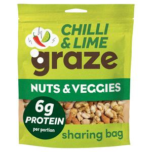 Graze Punchy Protein Nuts 118g