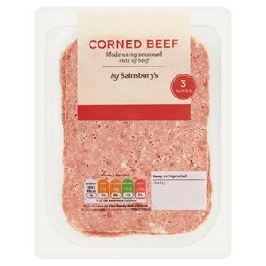 Sainsbury's Corned Beef 100g