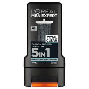 L'Oreal Men Expert Total Clean 5in1 Shower Gel 300ml