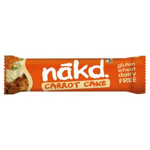 Nakd Gf Carrot Cake Bar 35Gm#35Nkdgfca