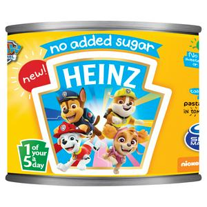 Heinz Paw Patrol Pasta Shapes in Tomato Sauce 205g