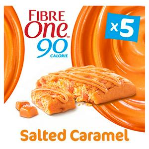 SAINSBURYS > Food Cupboard > Fibre One 90 Calorie Salted Caramel Bars 5x24g
