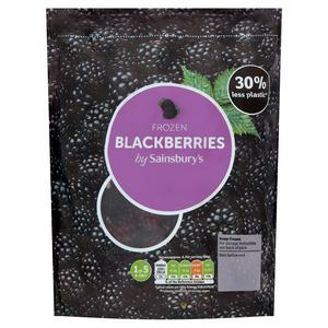 Sainsbury's Frozen Blackberries 500g
