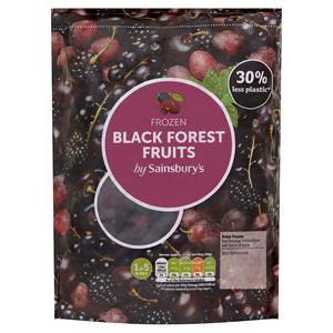 Sainsbury's Frozen Black Forest Fruits 500g