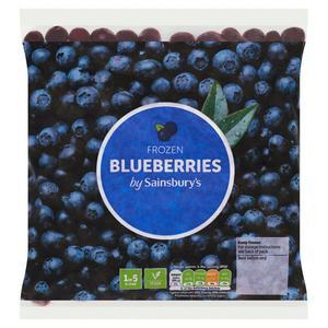 Sainsbury's Frozen Blueberries 400g