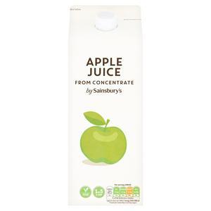 Sainsbury?s Pure Apple Juice 2L