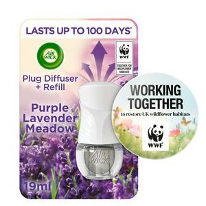 Air Wick Plug In Scented Oil Diffuser & Refill Lavender 19ml