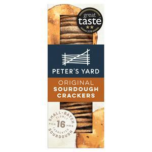 Peter's Yard Original Sourdough Crackers 105g