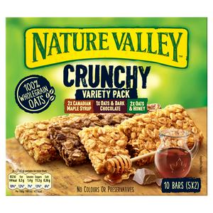 Nature Valley Crunchy Variety Pack Cereal Bars 5x42g