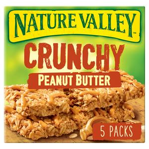 Nature Valley Crunchy Oats & Peanut Butter Cereal Bars 5x42g