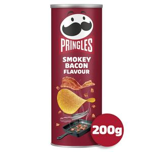SAINSBURYS > Food Cupboard > Pringles Smokey Bacon 200g