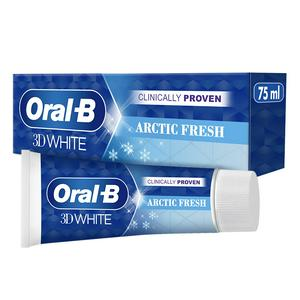 Oral-B 3D White Arctic Fresh Whitening Toothpaste 75ml