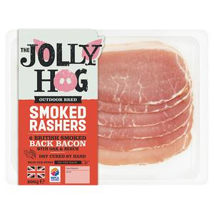 The Jolly Hog Smoked Back Bacon 200g