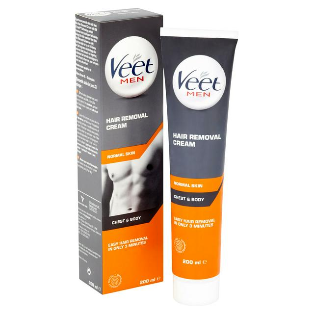 Veet For Men Hair Removal Cream Normal Skin 200ml Sainsbury S