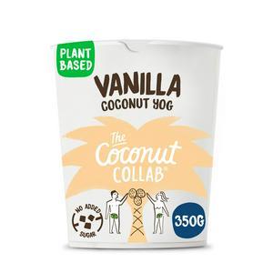 The Coconut Collaborative Yogurt Alternative, Madagascan Vanilla 350g