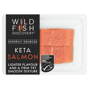 Wild Fish Discovery Keta Salmon x2 230g