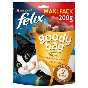 Felix Goody Bag Cat Treats Original Mix 200g