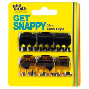 Phil Smith Be Gorgeous Get Snappy Mini Claw Clips