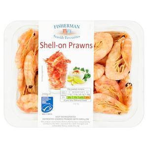 Fisherman Shell On Prawns 200g