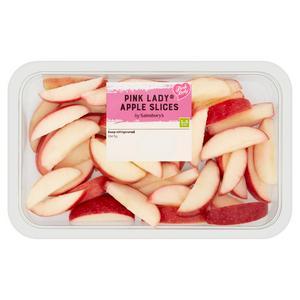 Sainsbury's Pink Lady Apple Slices 350g