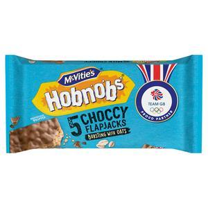 McVitie's Chocolate Hobnobs Flapjacks x5