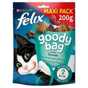 Felix Goody Bag Cat Treats Seaside Mix 200g