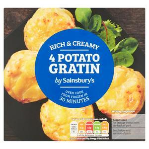 Sainsbury's Potato Gratin x4 400g