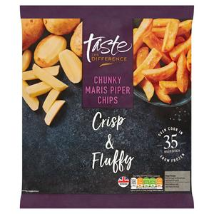 Sainsbury's Chunky Maris Piper Chips, Taste the Difference 900g
