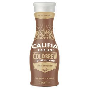 Califia Farms XX Espresso Cold Brew Coffee with Almond 750ml