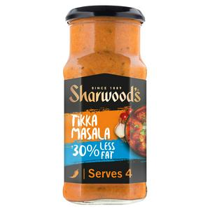 Sharwood's Tikka Masala Reduced Fat Curry Sauce 420g