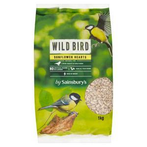Sainsbury's Wild Bird Sunflower Hearts 1kg