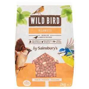Sainsbury's Wild Bird Peanuts 2kg