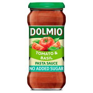 Dolmio Sun-Ripened Tomato & Basil Pasta Cooking Sauce 350g