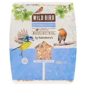 Sainsbury's Wild Bird Seed Mix 750g