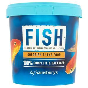 Sainsbury's Goldfish Flake Food 100g