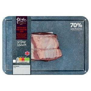 Sainsbury's 30 Day Matured Mini Beef Roasting Joint, Taste the Difference 500g