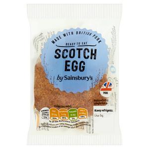 Sainsbury's Individual Scotch Egg 113g