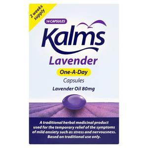 Kalms One-A-Day Lavender Oil 80mg x14 Capsules