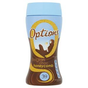 Options Belgian Chocolate Honeycomb Hot Chocolate 220g