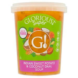 Glorious! Indian Sweet Potato and Coconut Daal Soup 600g