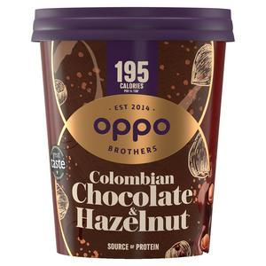 Oppo Low Calorie Colombian Chocolate & Hazelnut Ice Cream 475ml