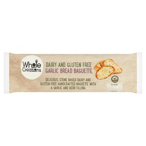 Whole Creations Gluten Free Garlic Baguette 170g