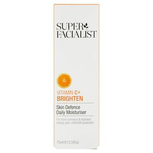 Super Facialist Vitamin C + Brighten Skin Defence Daily Moisturiser 75ml
