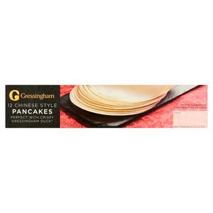 Gressingham Chinese Duck Pancakes X12 115g Sainsbury S