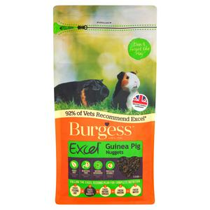 Burgess Excel Guinea Pig Nuggets 1.5kg