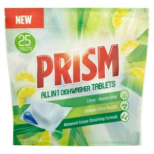 Prism All in 1 Dishwasher Tablets Citrus x25