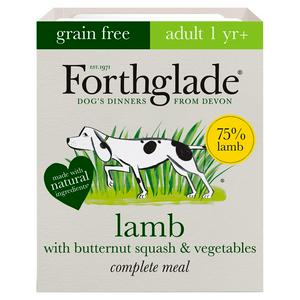Forthglade Adult 1 Yr+ Lamb with Butternut Squash & Vegetables Complete Meal 395g
