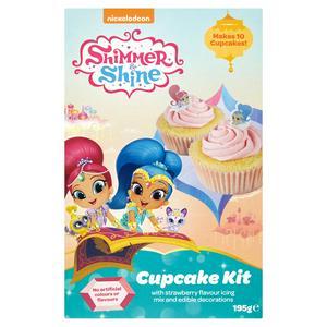 Nickelodeon Shimmer & Shine Cupcake Kit 195g