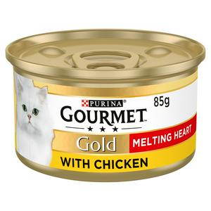 Gourmet Gold Melting Heart Cat Food Chicken 85g