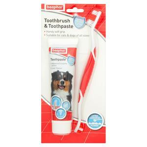 Beaphar Toothbrush & Toothpaste